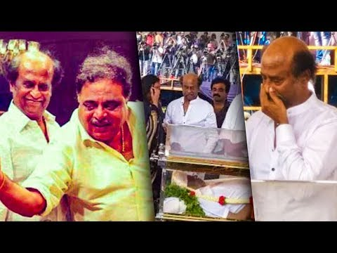 I Lost My Best Friend : Actor Ambarish passes away | Rajinikanth pays homage to his friend