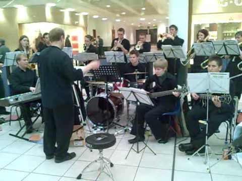Glasgow University Music Play in John Lewis, Glasgow.