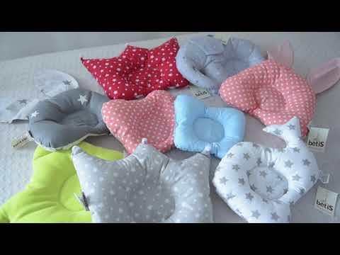 Как правильно выбрать ортопедическую подушку малышу?