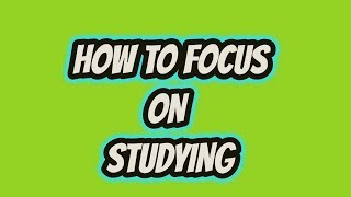 How to Focus On Studying in Bangla