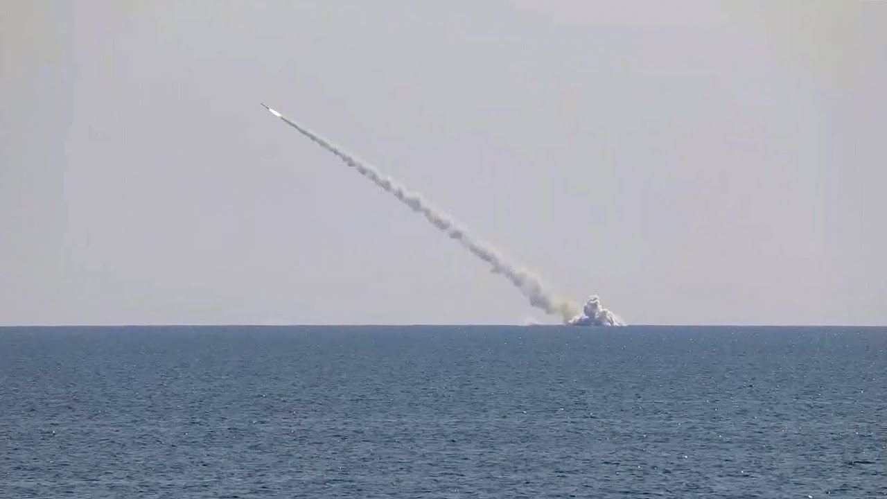 Пуск крылатых ракет