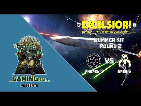 X-wing 2016 Summer Kit Round 2 - Andrew.C (Imperial) vs Greg.S (Scum)