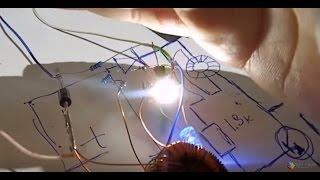 делаем садовый фонарь от солнечной батареи с нуля плюс схема