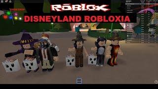 ROBLOX- Disneyland Robloxia!! Halloween Special episodes!!