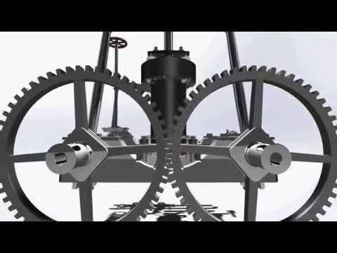Little Juliana IV - Engine Animation