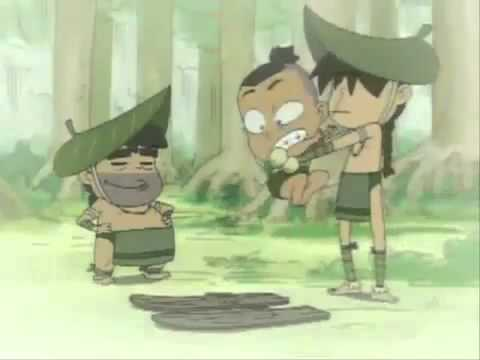 Avatar The Last Airbender Mini Series Episode 3 Swamp Skiing