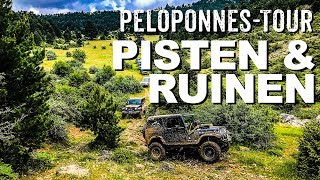 Offroad-Reise Peloponnes in Griechenland  I 4x4 Passion #102
