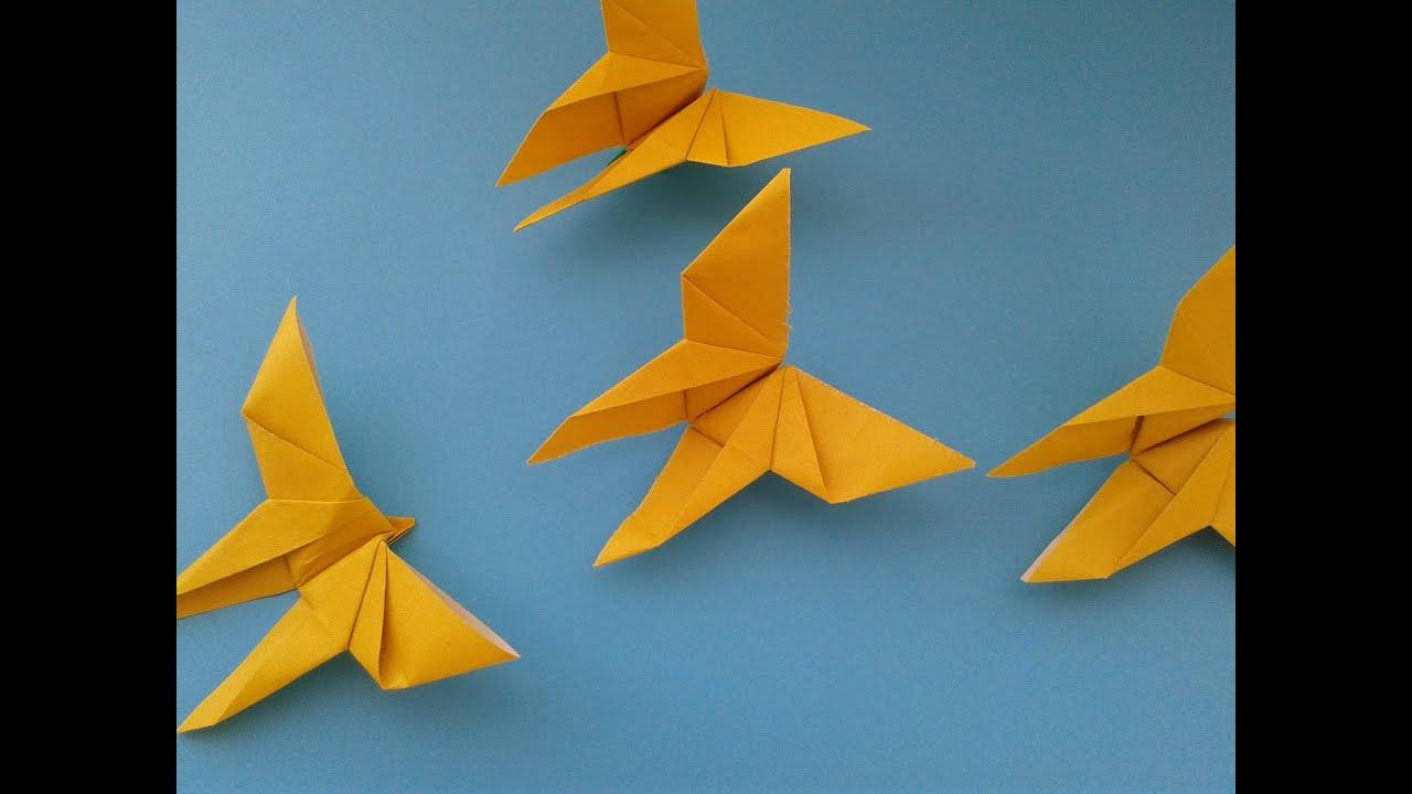 How to Make an Origami Butterfly оригами бабочка - YouTube - photo#35