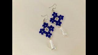 Christmas Gift Ideas.Beaded Earrings