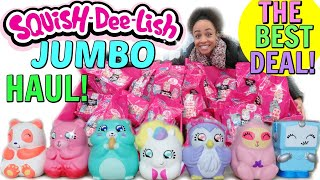 JUMBO SQUISH DEE LISH HAUL! THE BEST DEAL! WE GOT A RARE!