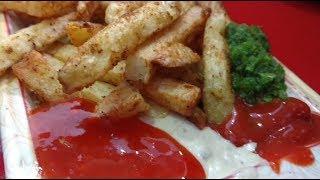 Pathan Ki Chips - Delicious French Fries At Burns Road Street Karachi