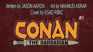 CONAN THE BARBARIAN #1 Launch Trailer | Marvel Comics