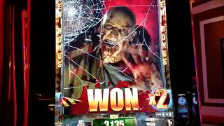 THE WALKING DEAD Slot Machine Bonuses FULL VIDEO,Live Play at Wynn Las Vegas