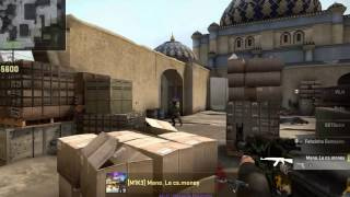 Counter-Strike Global Offensive - Comp Dust 2 - 4 k ??