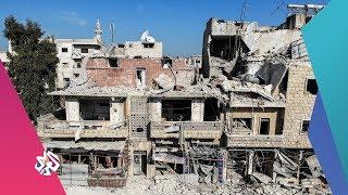 سوريا .. مقتل وإصابة عشرات المدنيين باستهداف الطيران الروسي مركز نازحين في ريف إدلب | أخبار العربي
