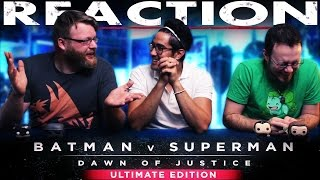 Batman v Superman: Dawn of Justice Ultimate Edition Trailer REACTION and DISCUSSION!!