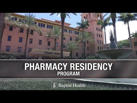 Pharmacy Residency At Baptist Health