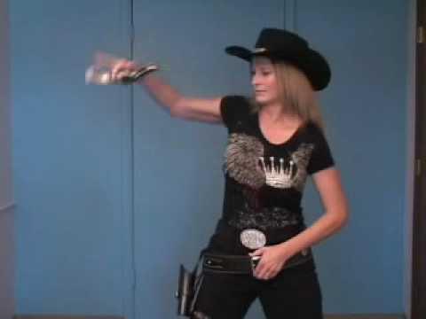 Fast Draw Fancy Gun Handling Roanna Huckstep Gun Spinning ...