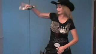 Fast Draw Fancy Gun Handling Roanna Huckstep Gun Spinning Gunslinger