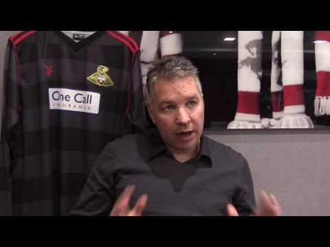 """Darren Ferguson: """"Signing Tommy Rowe is a huge statement of intent"""""""