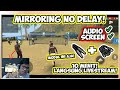 - Cara Mirroring Game Screen+Audio Ke PC No Delay Kualitas HD