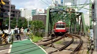 京急電車@品川踏み切り Keikyû trains @ Shinagawa level crossing -16 tr. thumbnail