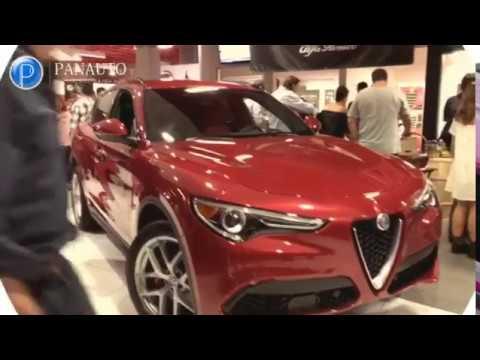 Alfa Romeo Stelvio presentation in Miami by Panauto Leasing | Car broker company