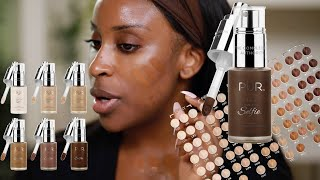 Download PUR Cosmetics 100 FOUNDATION SHADES?! I'm Confusion Luv   Jackie Aina Mp3 and Videos