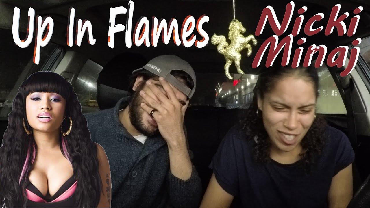 NICKI MINAJ | UP IN FLAMES |🔥🔥 PINK FRIDAY | REACTION REACTION🙏💕