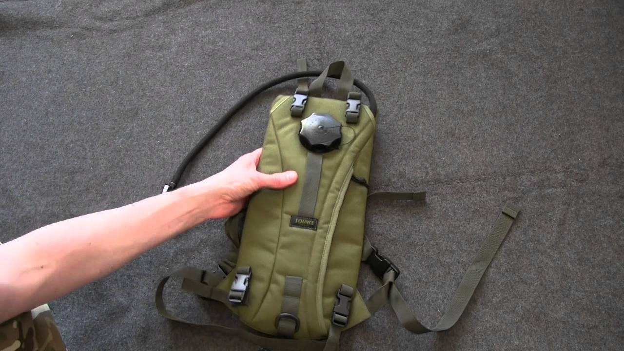 449a2e35ea Source Tactical 3l Hydration Pack - YouTube