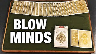 Card Trick So Visual It's MIND BLOWING!