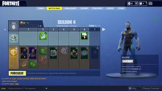 FORTNITE BATTLE ROYALE SEASON 4 BRACE FOR IMPACT ALL *NEW* SKINS, EMOTES , NEW GRAFFITI