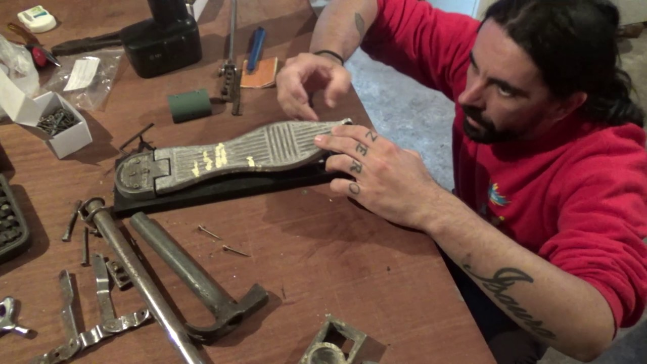 DIY - Homemade electronic drumkit part13 - HiHat foot controller build