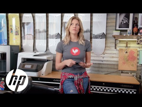 Meet the Intern: Charissa Thompson & the HP OfficeJet Pro Printer at Sonoma Coast Surf and Skate