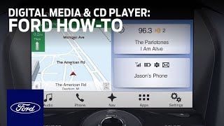 Voice-Controlled Digital Media and CD Player | SYNC 3 How-To | Ford thumbnail