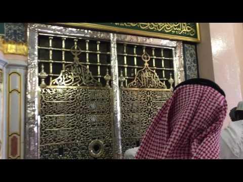 Madina munawara nabi karim sallallahu alaihi wasallam ka Rawza e Mubarak live