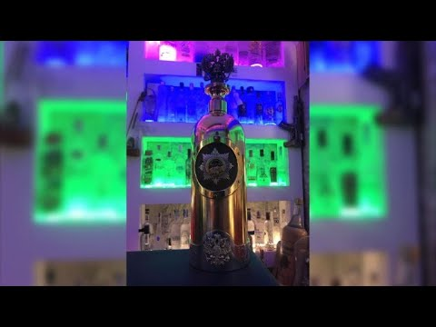 'World's most expensive vodka bottle' stolen from Copenhagen bar