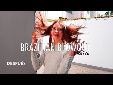 Antes y Después Brazilian Blowout México  Cabello sin Frizz Brazilian Blowout