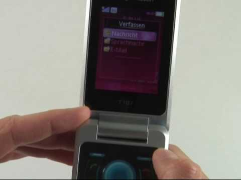 Sony-Ericsson T707 Test Bedienung