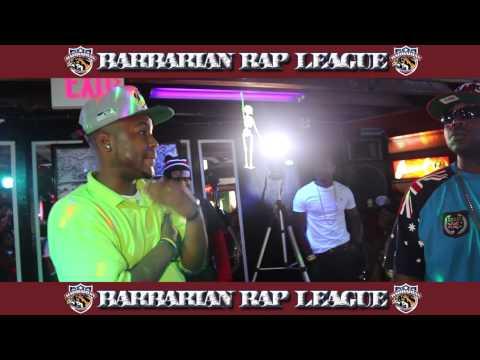 V6 Quan vs Dat Boi Mecca Barbarian Rap League Rap Battle