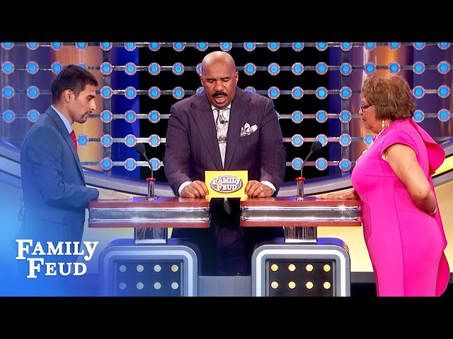 Guys LOVE women who do this job! | Family Feud