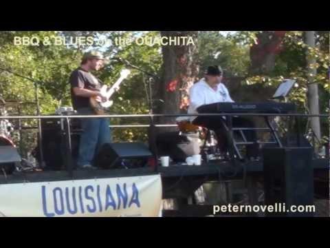 Peter Novelli Band at BLUES & BBQ ON THE OUACHITA, Columbia LOUISIANA