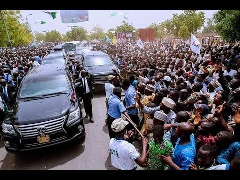 President Muhammadu Buhari on a Sympathy Visit to Kaduna State over the Recent Security Challenges