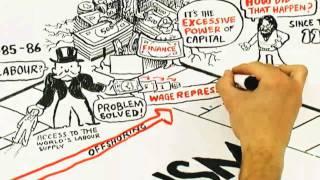 La Crisis de Capitalismo (en dibujos) por David Harvey (Doblado con voz al castellano).