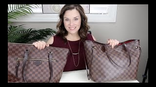 Louis Vuitton Iéna MM Wear & Tear, PLUS as a Travel Bag Compared to LV Neverfull MM