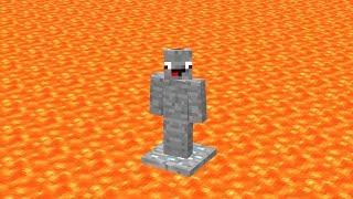 Überleben auf Einem Diamant Block - Minecraft Lucky Block Lava Insel