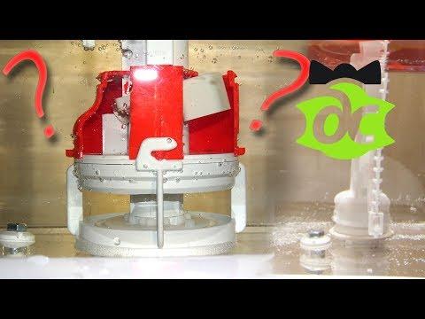 Как работает сливная и заливная арматура для унитаза