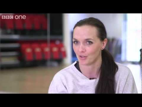 Victoria Pendleton & Brendan Cole's first rehearsal - Strictly Come Dancing 2012 - BBC One