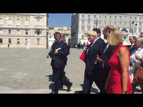 Western Balkans Summit, Foreign Secretary Boris Johnson