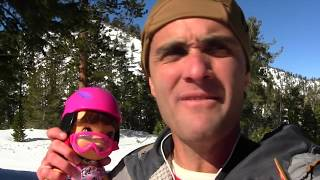 Baby Alive Goes Snowboarding with My Girl Snowboarding Set!  ||  Toy Unboxing || Konas2002